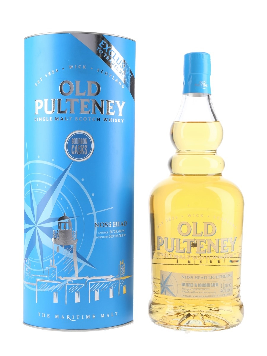 Old Pulteney Noss Head Lighthouse Travel Retail Exclusive 100cl / 46%