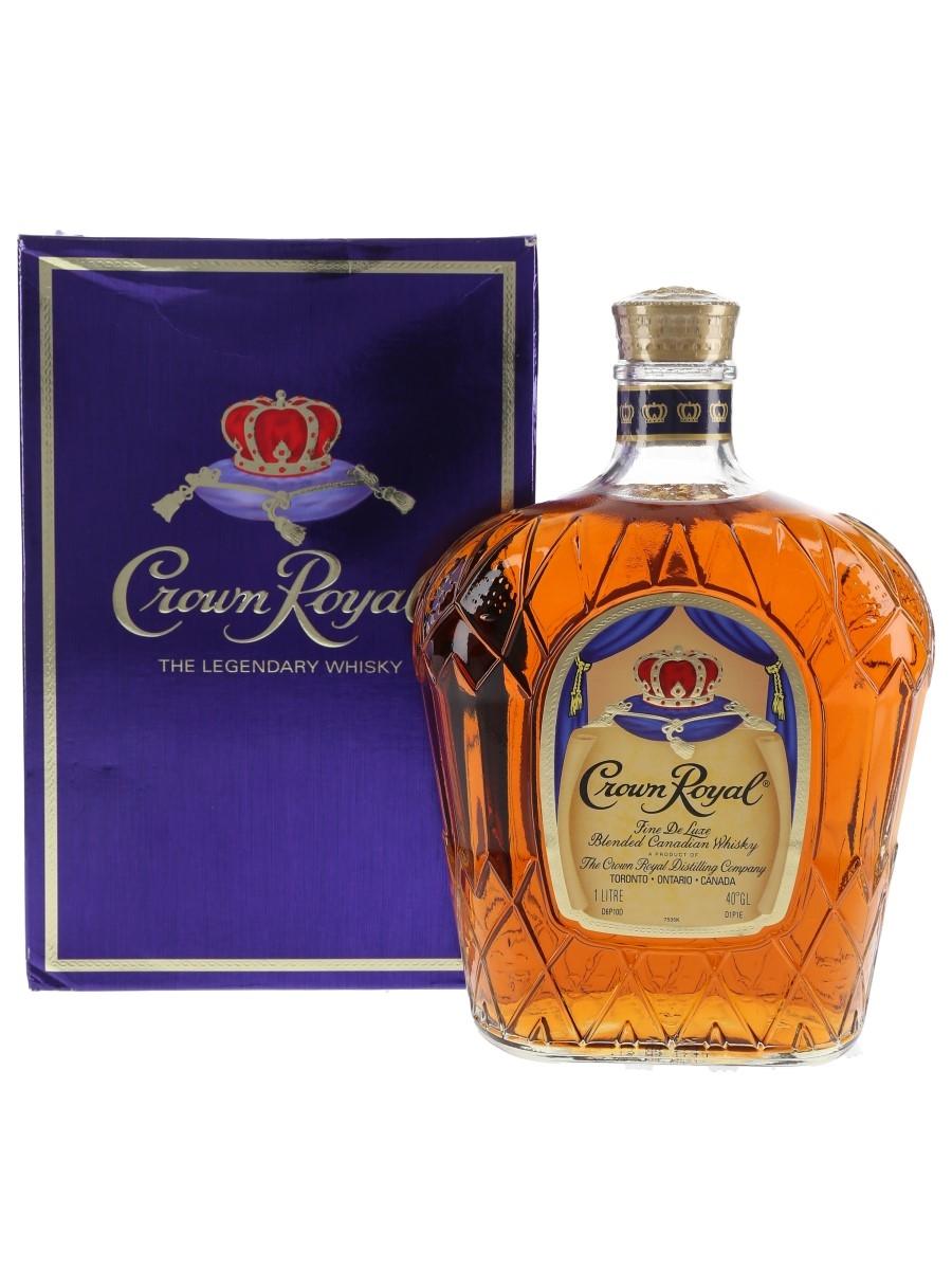 Seagram's Crown Royal Fine De Luxe  100cl / 40%