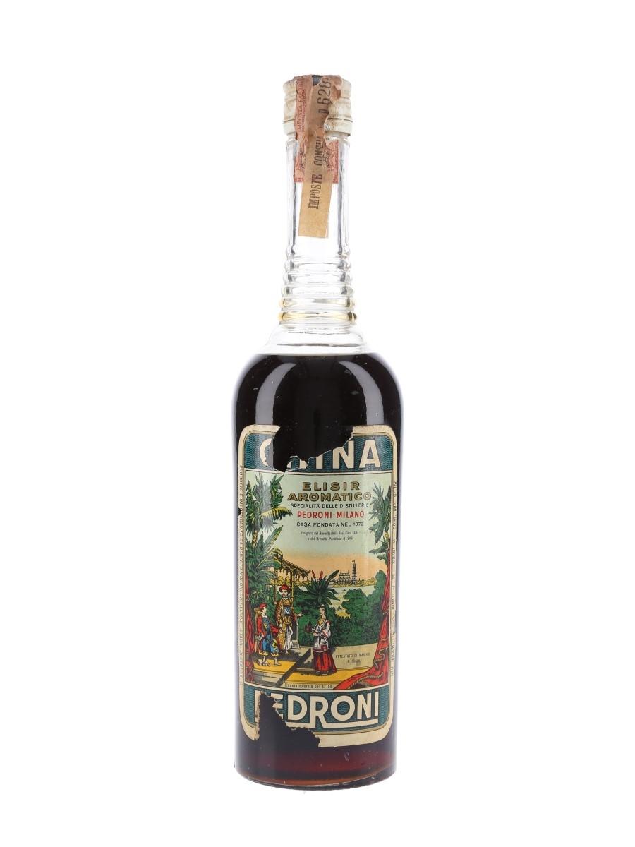 Pedroni China Bottled 1960s 75cl / 31%