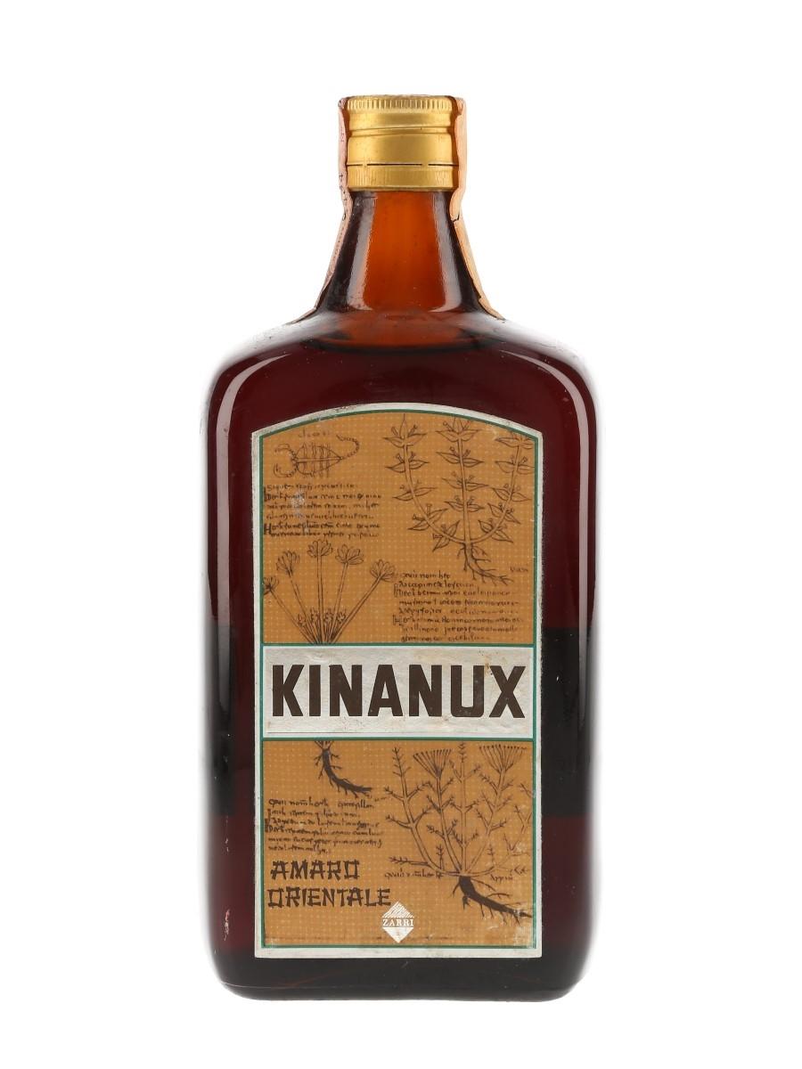 Zarri Kinanux Amaro Orientale Bottled 1970s 75cl / 36%