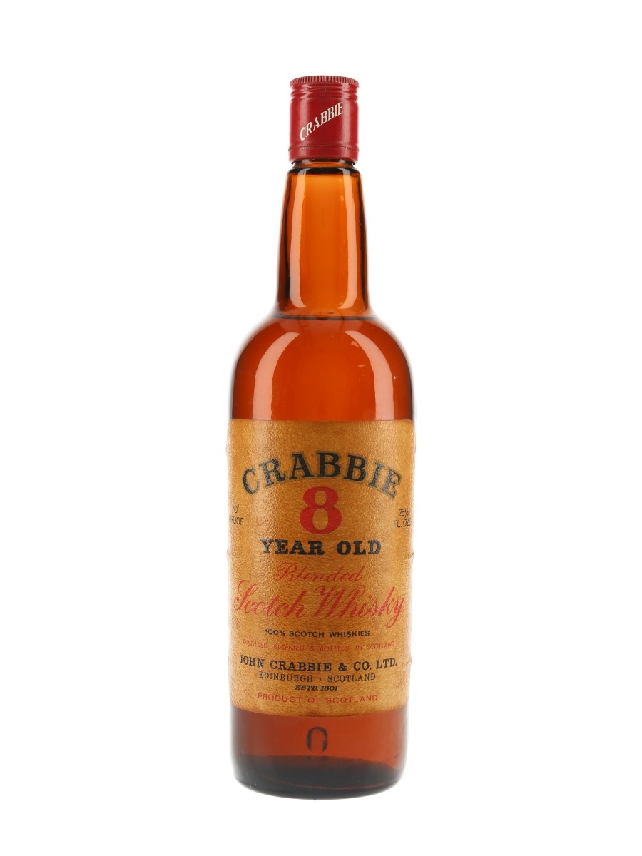 Crabbie 8 Year Old Bottled 1970s 75.7cl / 40%