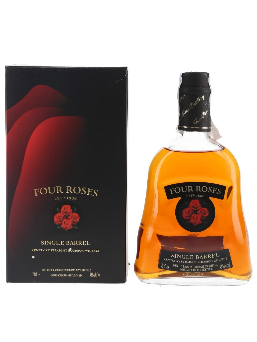 Four Roses 7 Year Old Single Barrel Bottled 2007 70cl / 43%