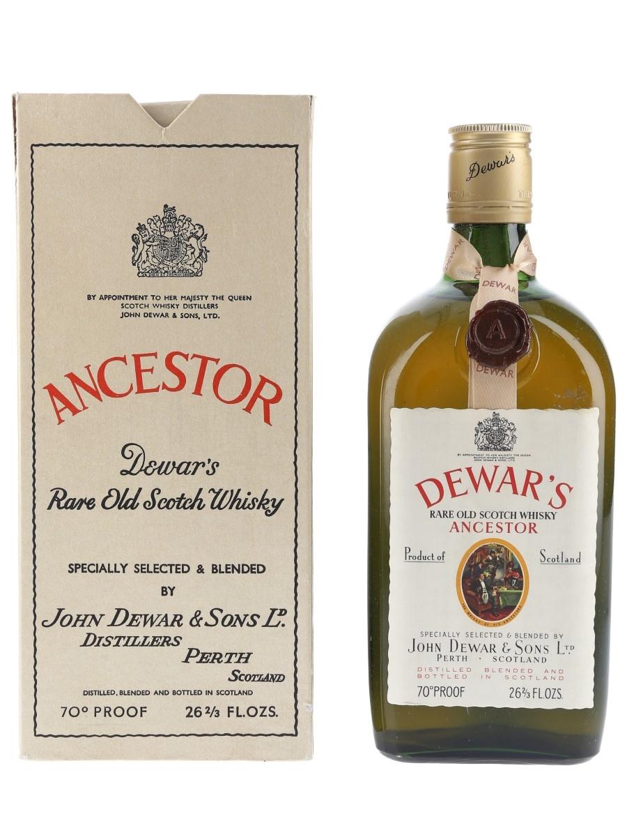 Dewar's Ancestor Bottled 1960s 75.7cl / 40%