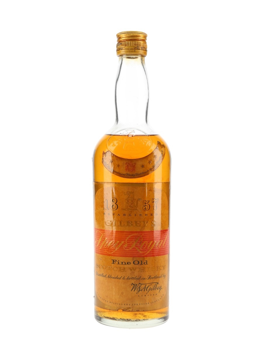 Gilbey's Spey Royal Bottled 1950s - W & A Gilbey 75cl