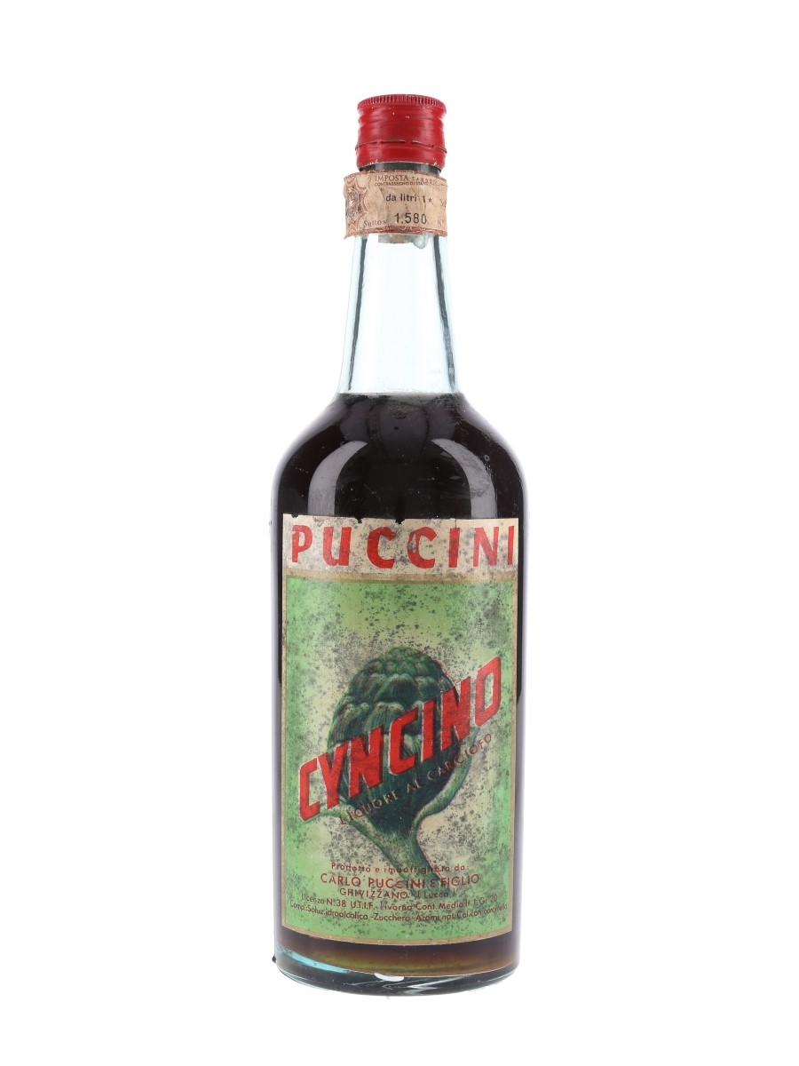 Puccini Cyncino Bottle 1960s 100cl / 20%