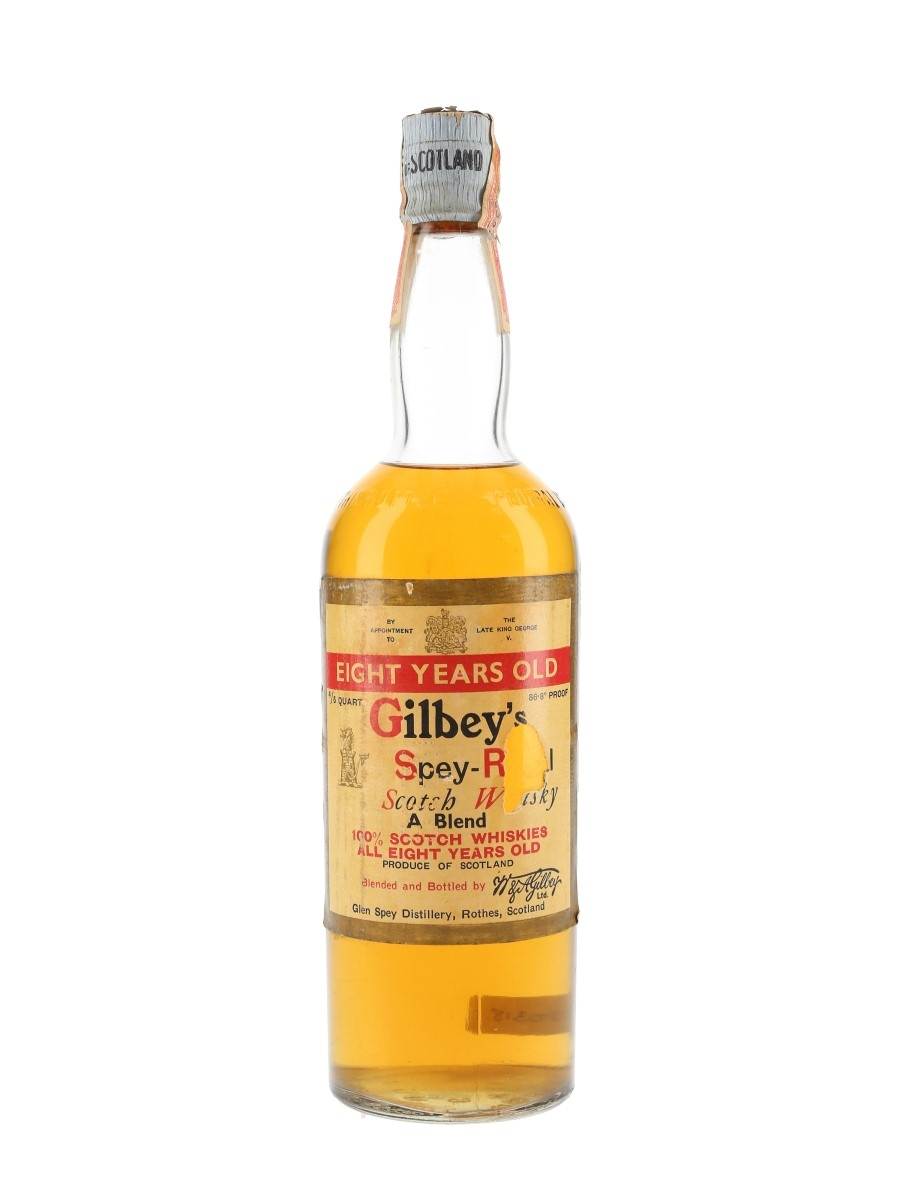 Gilbey's Spey Royal 8 Year Old Bottled 1940s - W & A Gilbey 75.7cl / 43.4%