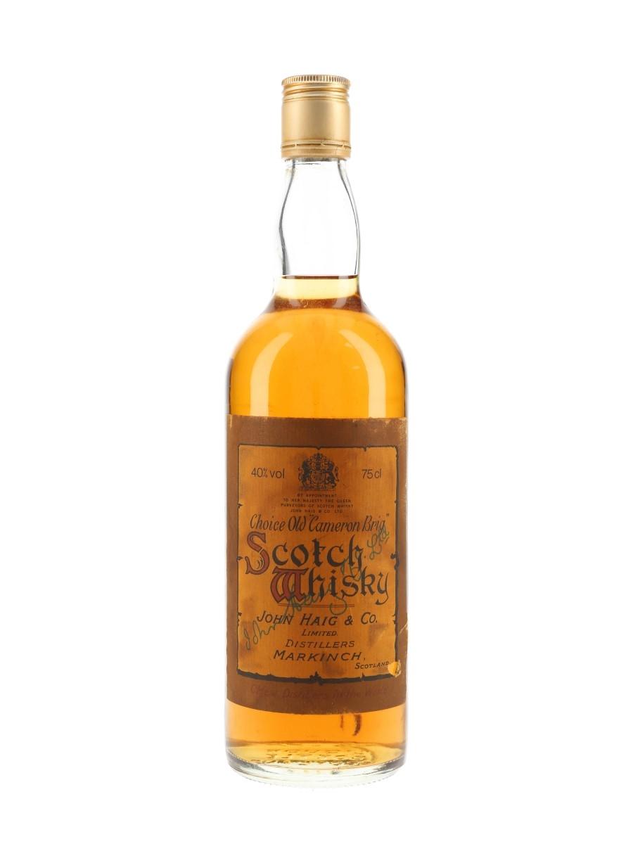 Haig's Choice Old Cameron Brig Bottled 1970s 75cl / 40%