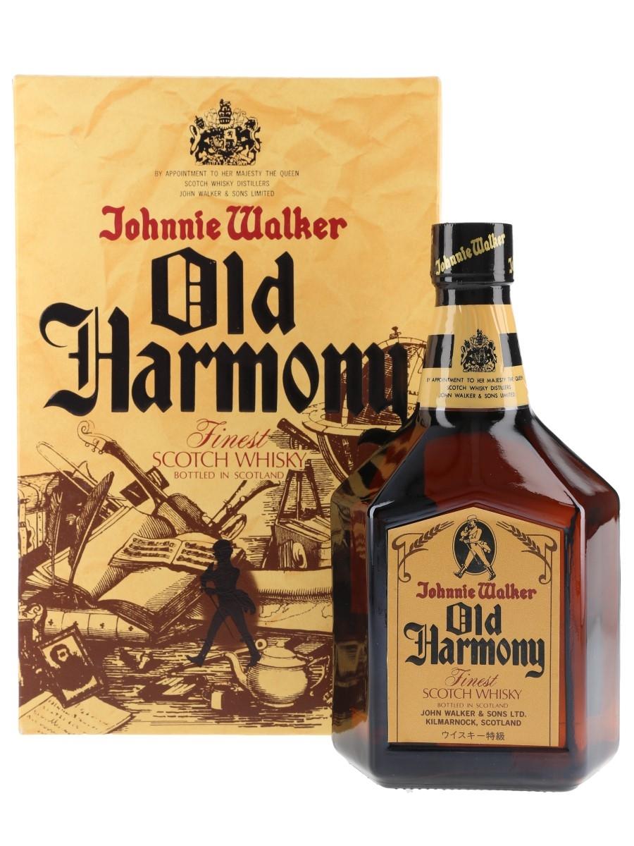 Johnnie Walker Old Harmony Bottled 1980s - Japan 75cl / 43%