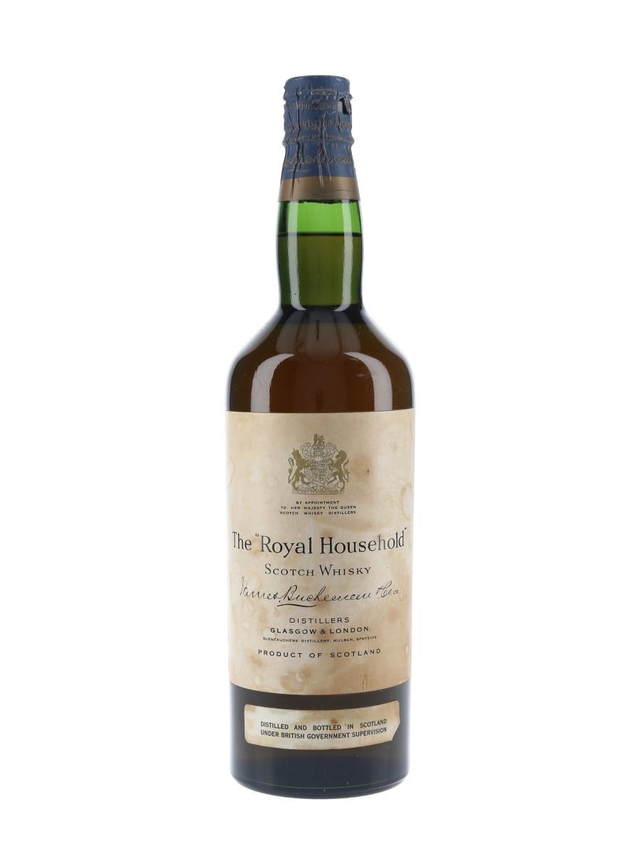 Royal Household Spring Cap Bottled 1960s - James Buchanan & Co. 75cl / 40%