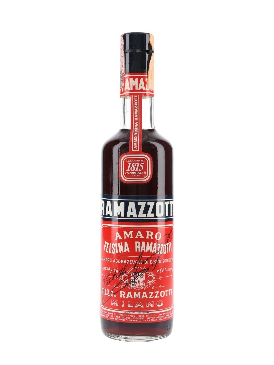 Ramazzotti Amaro Bottled 1970s 75cl / 30%