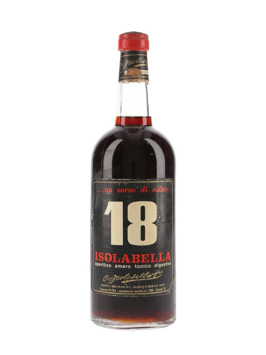 Isolabella 18 Amaro Bottled 1950s 100cl / 32%