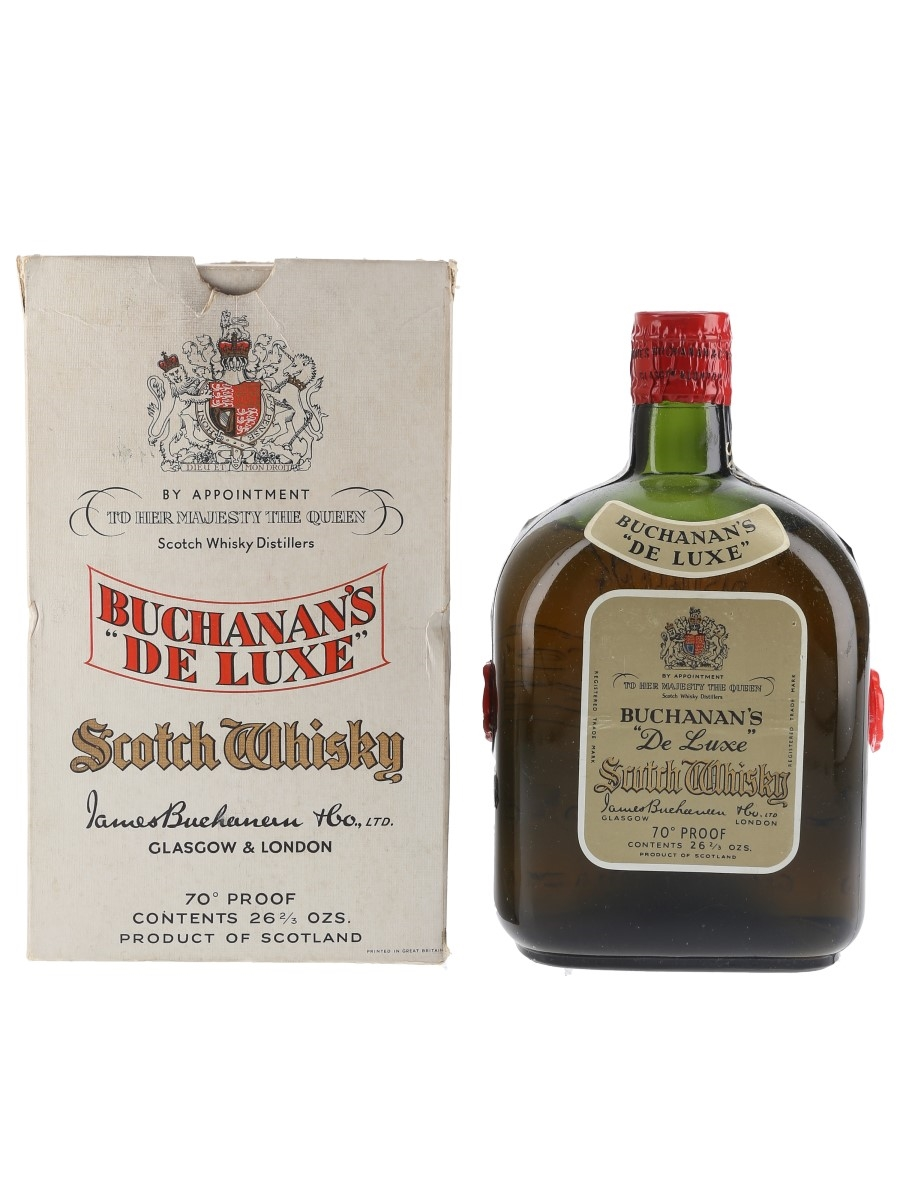 Buchanan's De Luxe Spring Cap Bottled 1950s-1960s 75.7cl / 40%