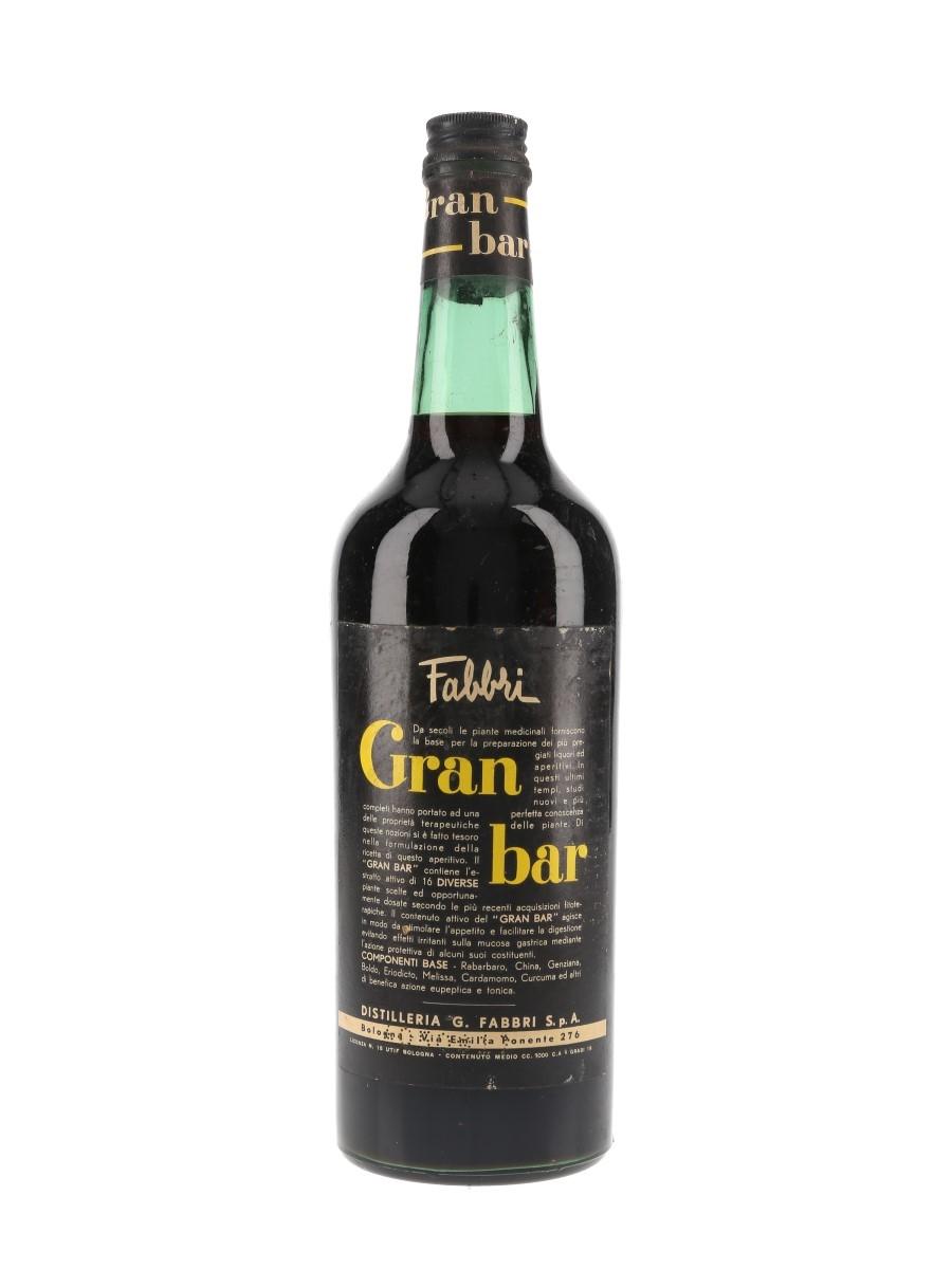 Fabbri Gran Bar Bottled 1950s 100cl / 19%