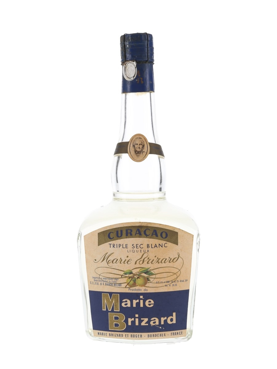Marie Brizard Triple Sec Curacao Bottled 1950s - Silva 75cl / 39%