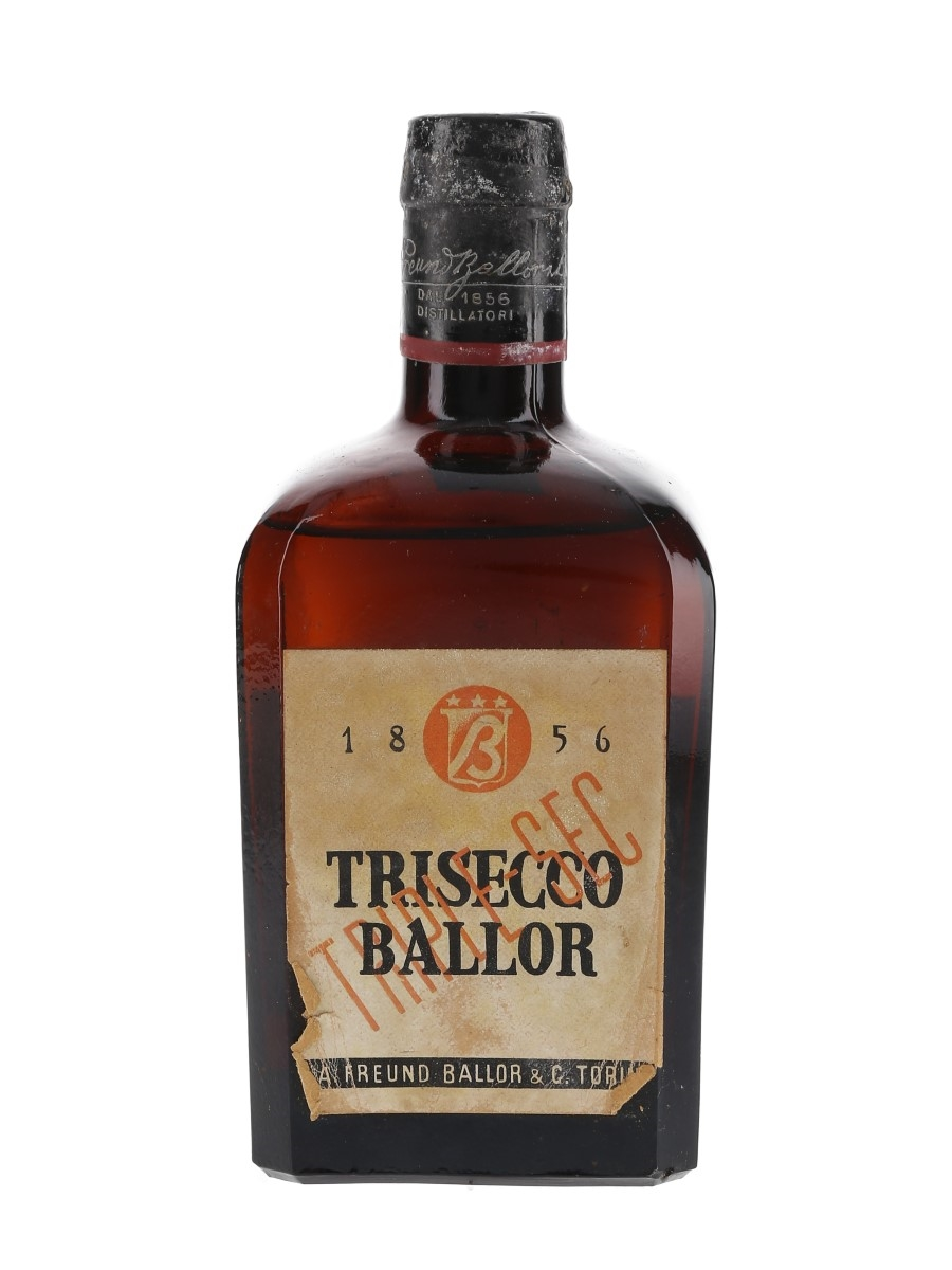 Ballor Trisecco Bottled 1950s 76cl / 40%