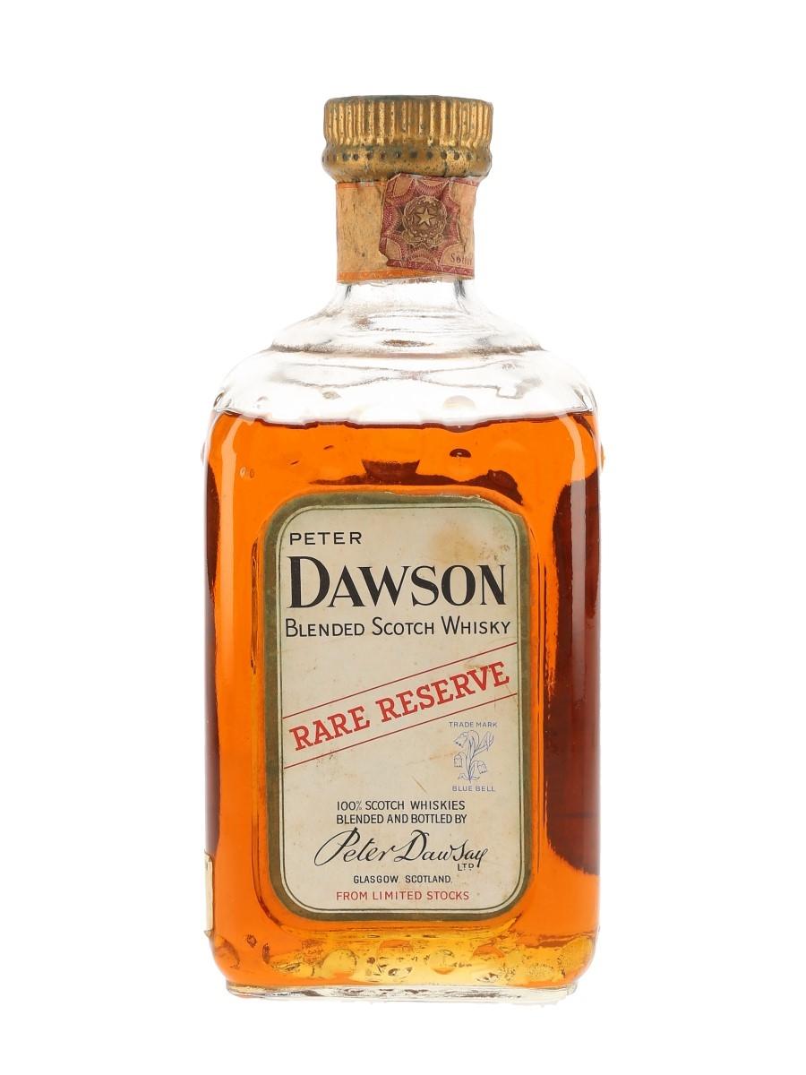 Peter Dawson Rare Reserve Bottled 1960s - Roberto Manzuoli 75cl / 43%