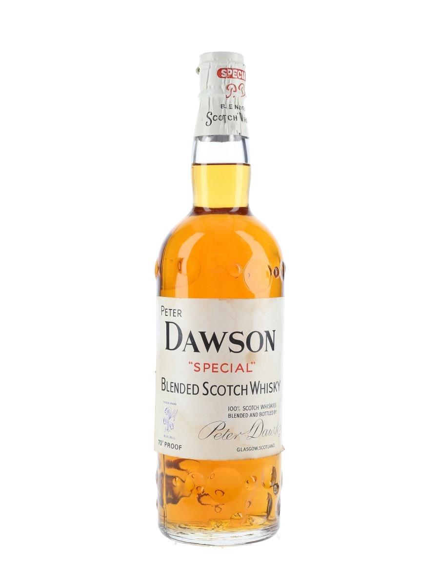 Peter Dawson Special Spring Cap Bottled 1950s 75cl / 40%
