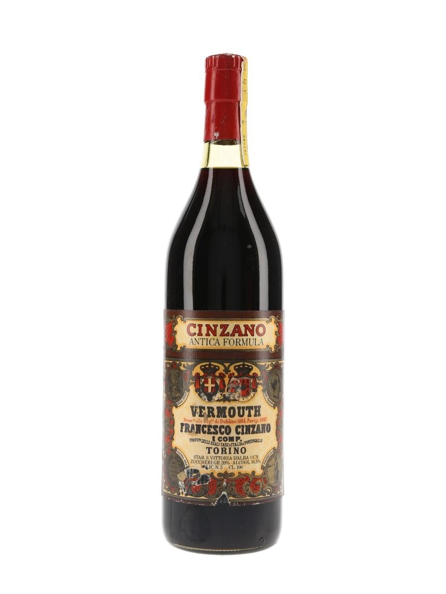 Cinzano Antica Formula Vermouth Bottled 1970s 100cl / 16.5%