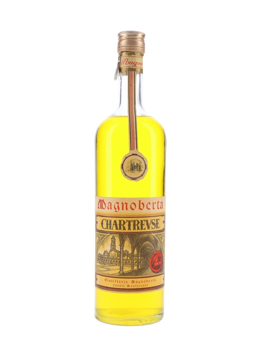 Magnoberta Chartreuse Bottled 1950s 100cl