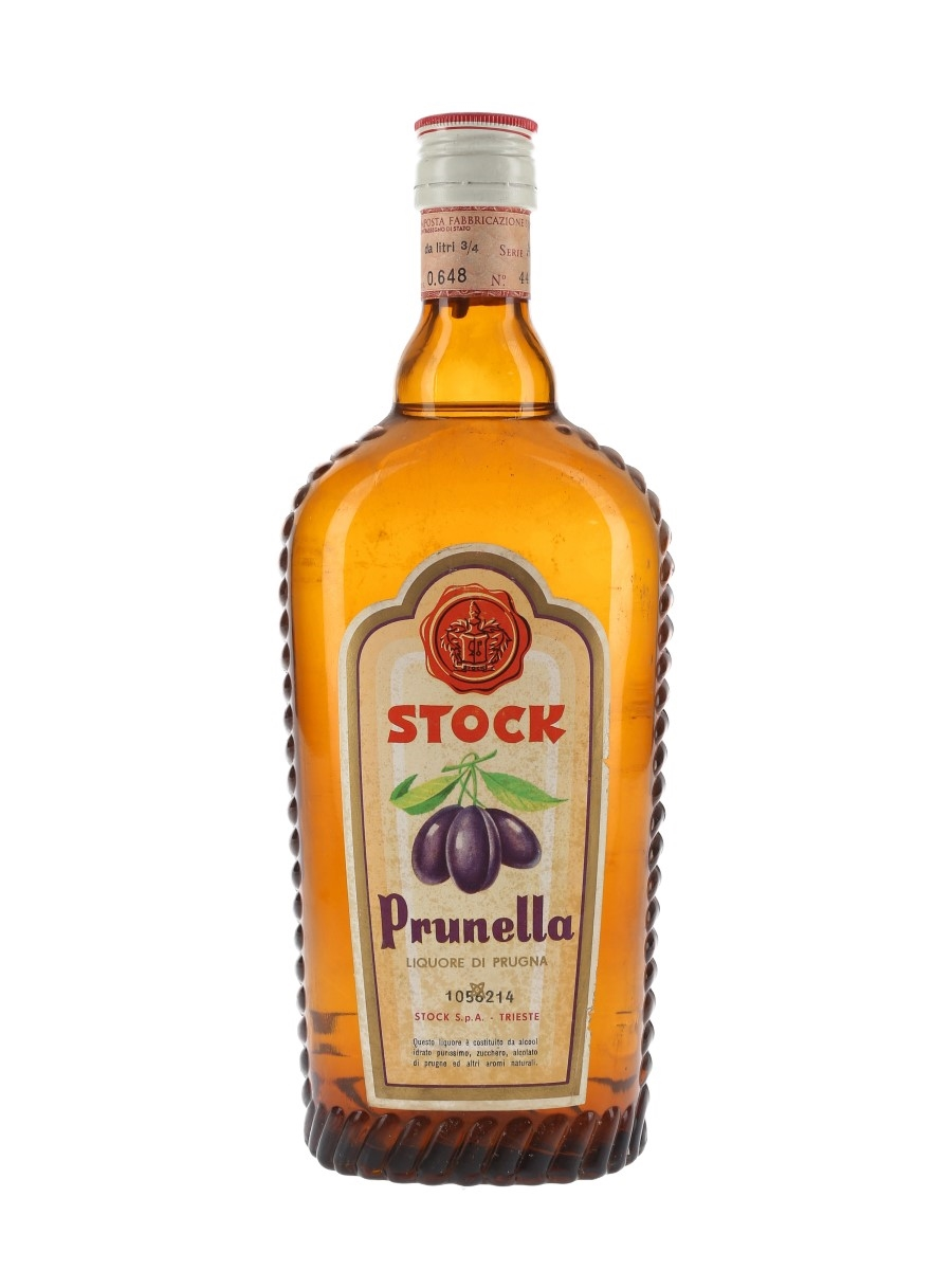 Stock Prunella Liqueur Bottled 1960s 75cl / 40%
