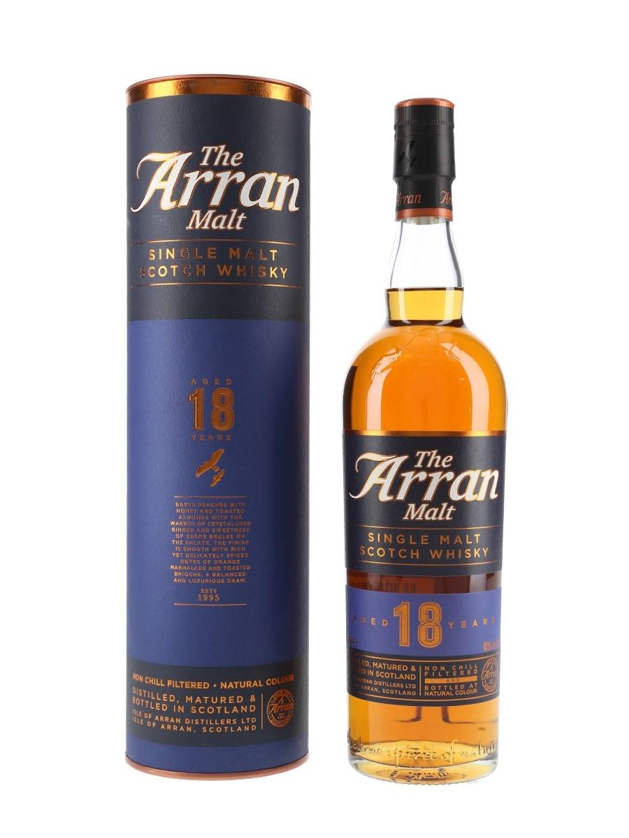 Arran 18 Year Old Bottled 2018 70cl / 46%