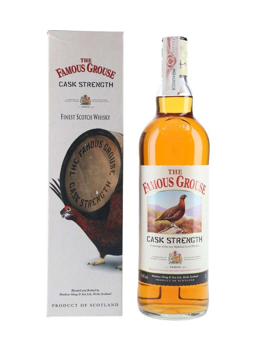 Famous Grouse Cask Strength  100cl / 59.8%