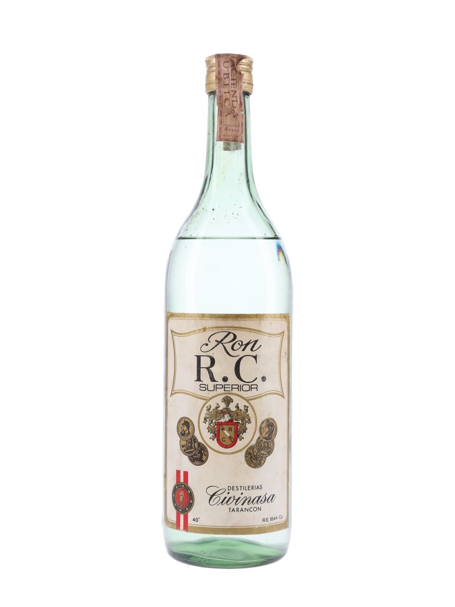 Civinasa RC Ron Superior Bottled 1960s-1970s 100cl / 40%