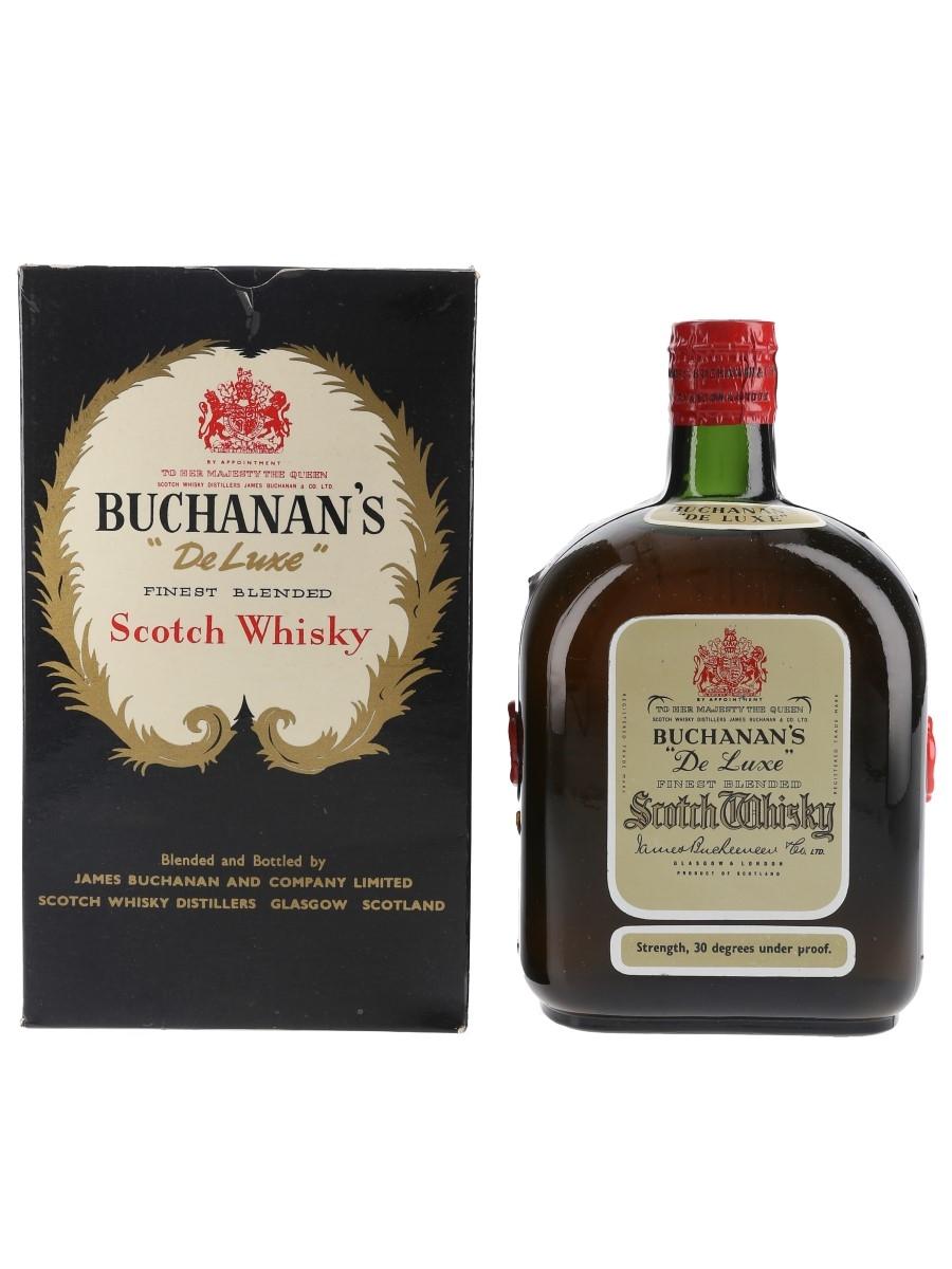 Buchanan's De Luxe Spring Cap Bottled 1950s-1960s 75.7cl / 40%