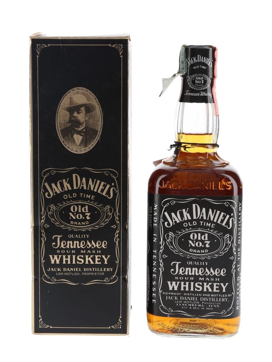 Jack Daniel's Old No.7 Bottled 1980s - Soffiantino 70cl / 45%
