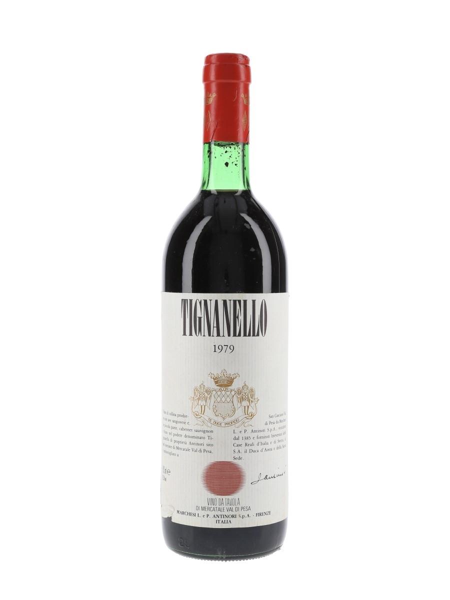 Antinori Tignanello 1979  75cl / 12.5%