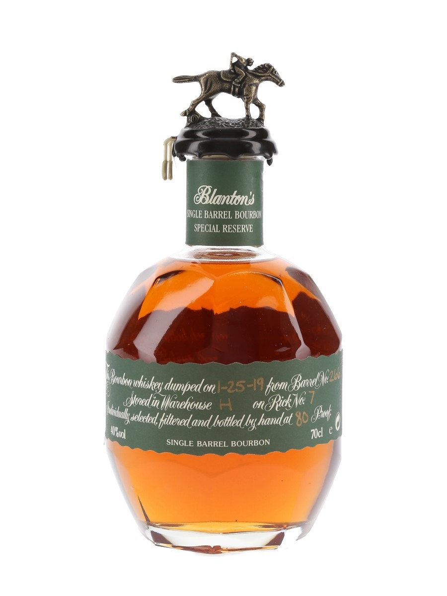 Blanton's Special Reserve Single Barrel No. 266 Bottled 2019 70cl / 40%