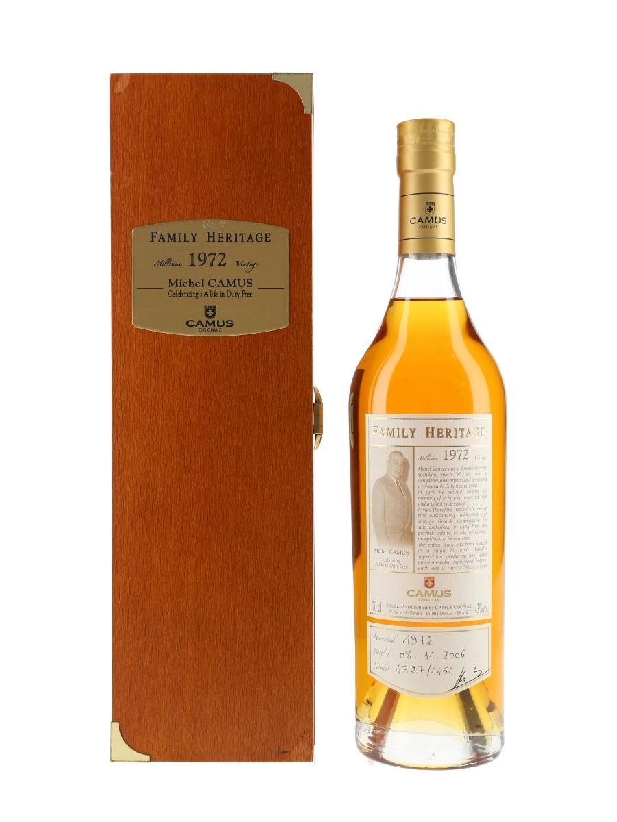 Camus 1972 Family Heritage Bottled 2006 70cl / 43%