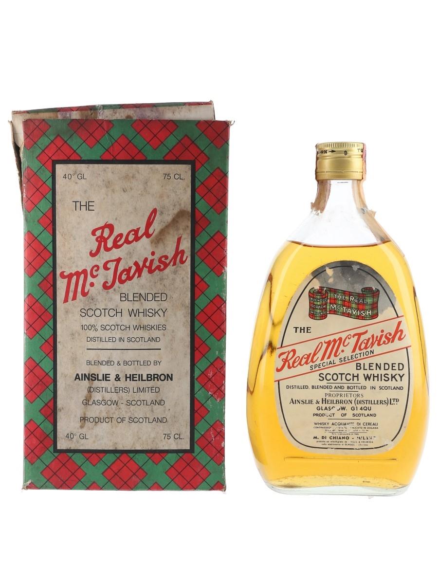 Real McTavish Special Selection Bottled 1970s - Ainslie & Heilbron 75cl / 40%