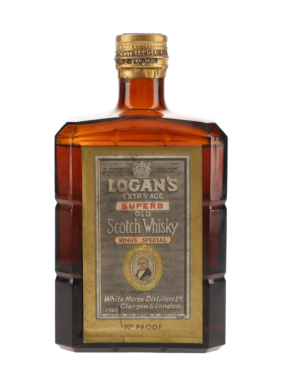 Logan's King's Special Bottled 1940s - White Horse Distillers 75cl / 40%