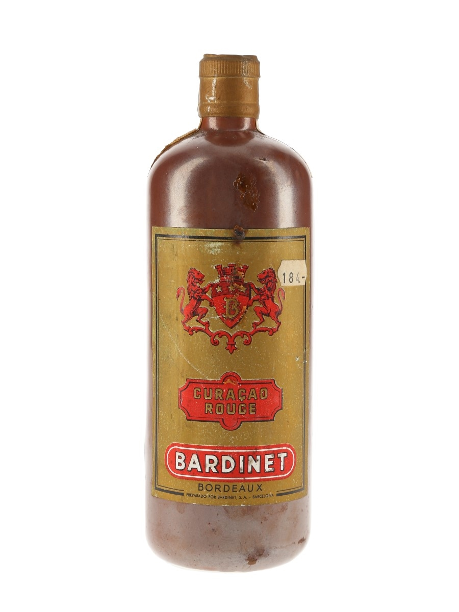 Bardinet Curacao Rouge  50cl
