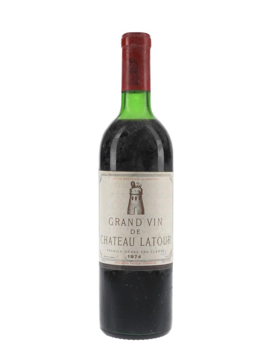 Chateau Latour 1974 Premier Grand Cru Classe - Pauillac 73cl