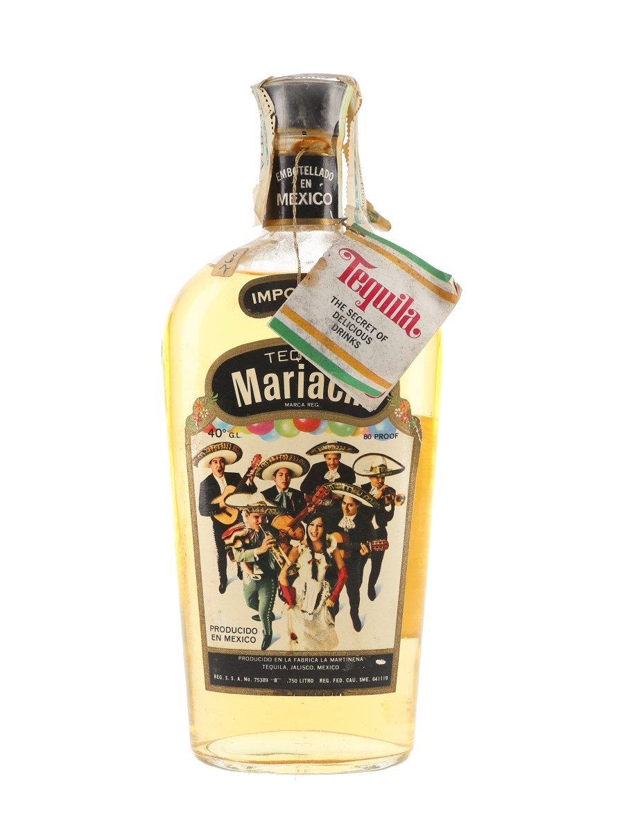 Tequila Mariachi Bottled 1970s 75cl / 40%
