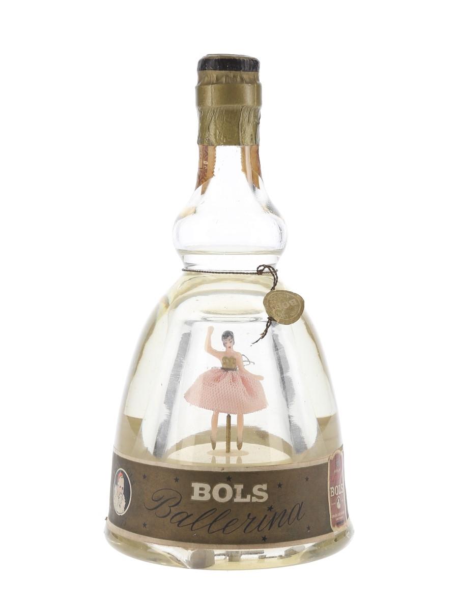 Bols Ballerina Curacao Blanc Triple Sec Bottled 1960s 50cl