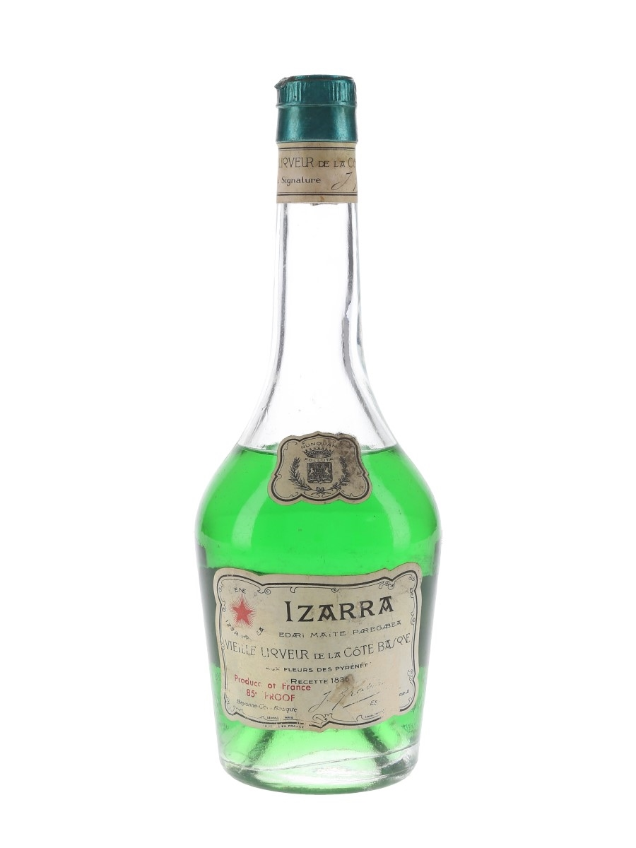 Izarra Liqueur Bottled 1970s 35cl / 48%