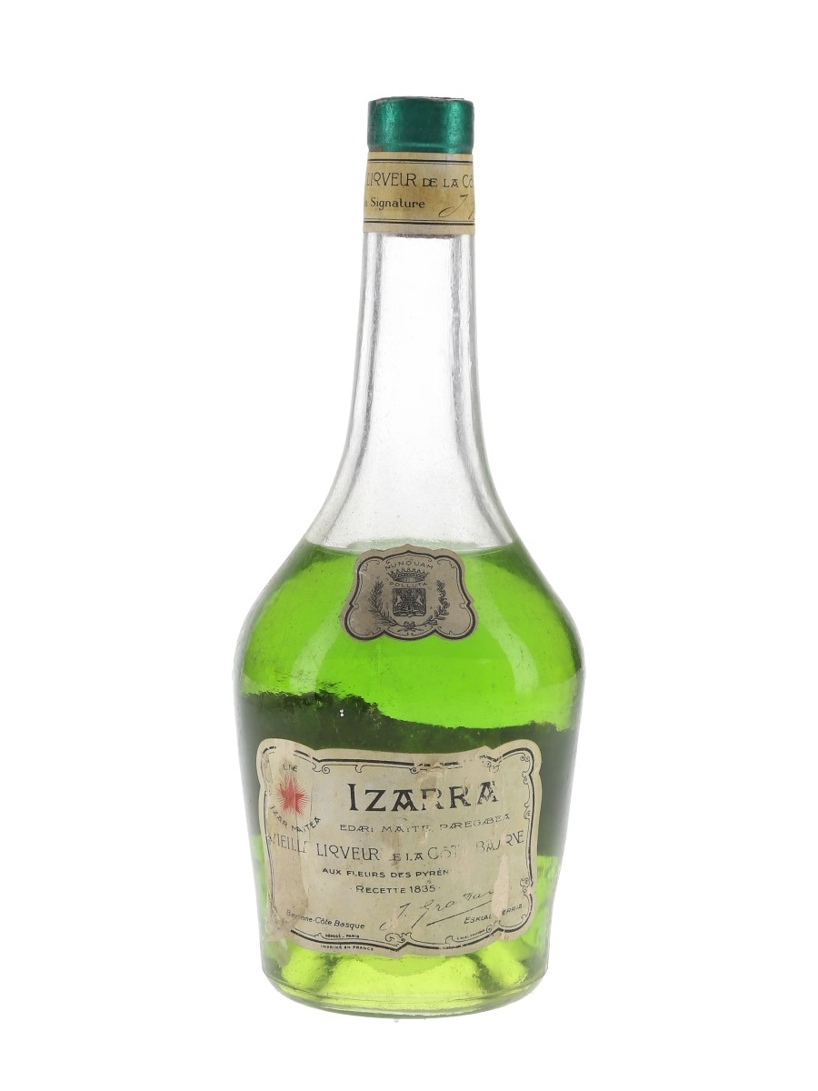 Izarra Liqueur Bottled 1970s 35cl / 48%