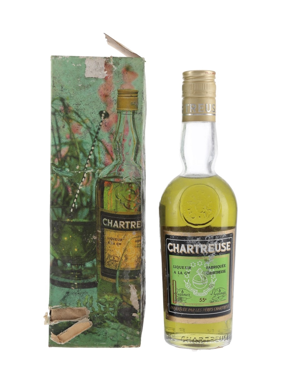 Chartreuse Green Bottled 1975-1982 35cl / 55%