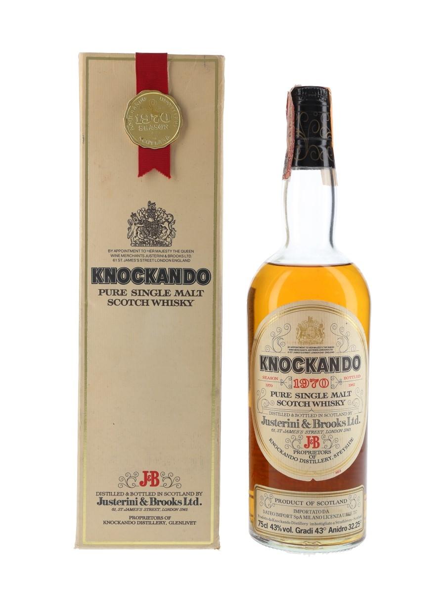 Knockando 1970 Bottled 1982 - Dateo Import 75cl / 43%