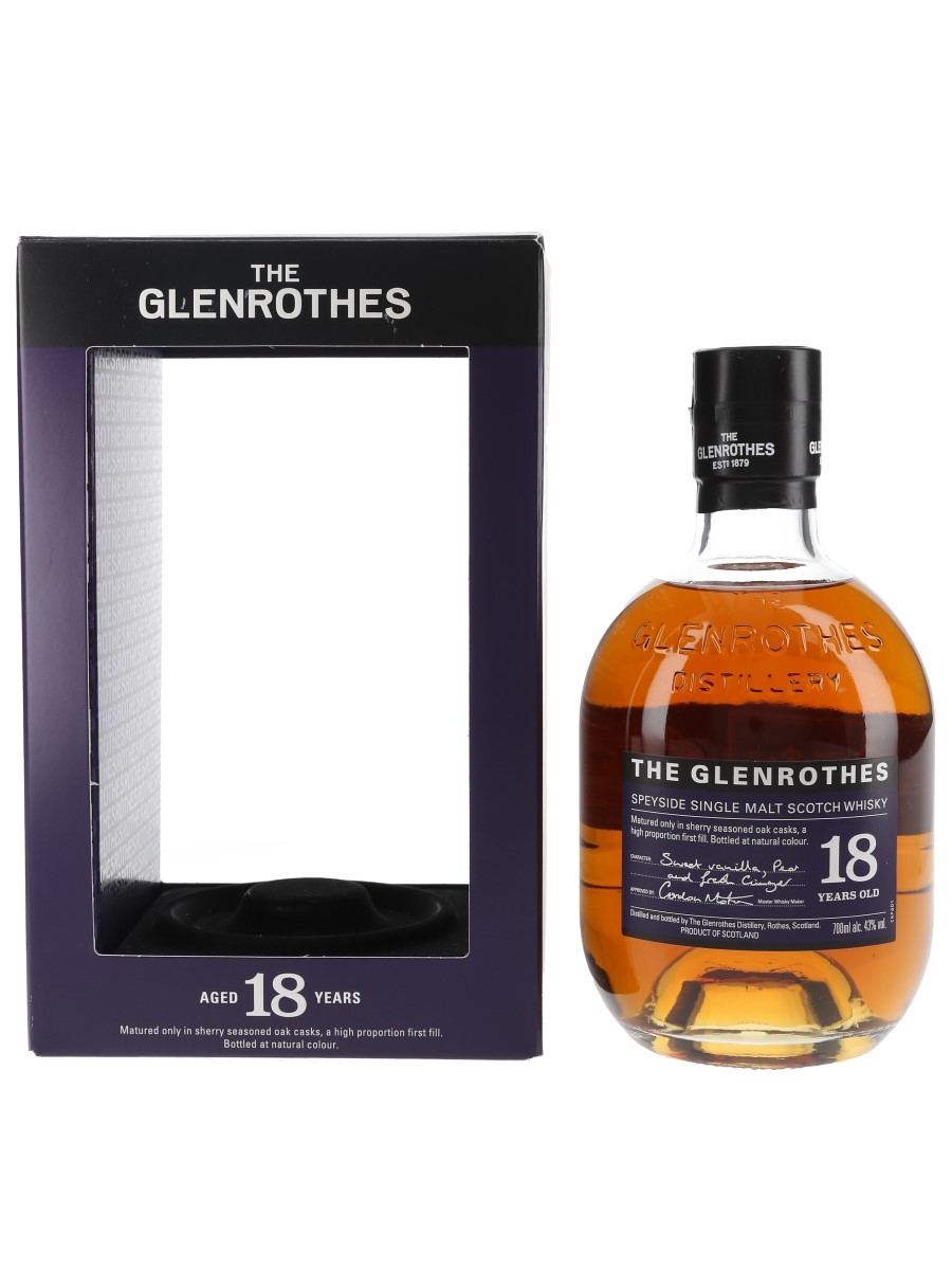 Glenrothes 18 Year Old  70cl / 43%