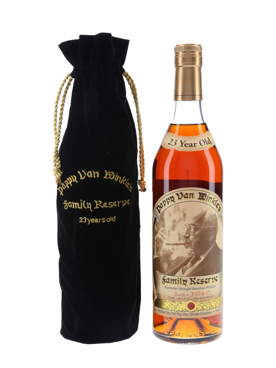 Pappy Van Winkle's 23 Year Old Family Reserve Bottled 2018 75cl / 47.8%