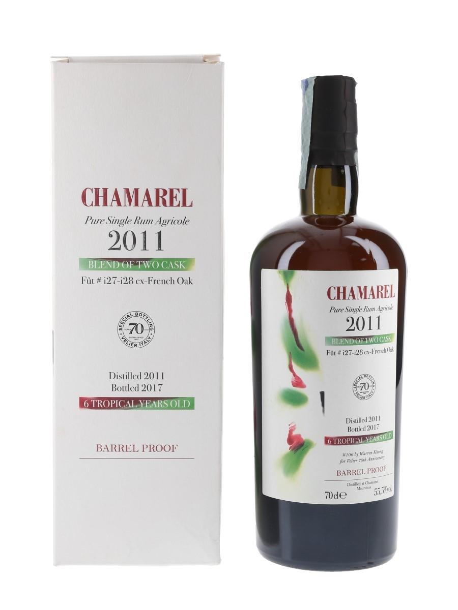 Chamarel 2011 Barrel Proof Bottled 2017 - Velier 70cl / 55.5%