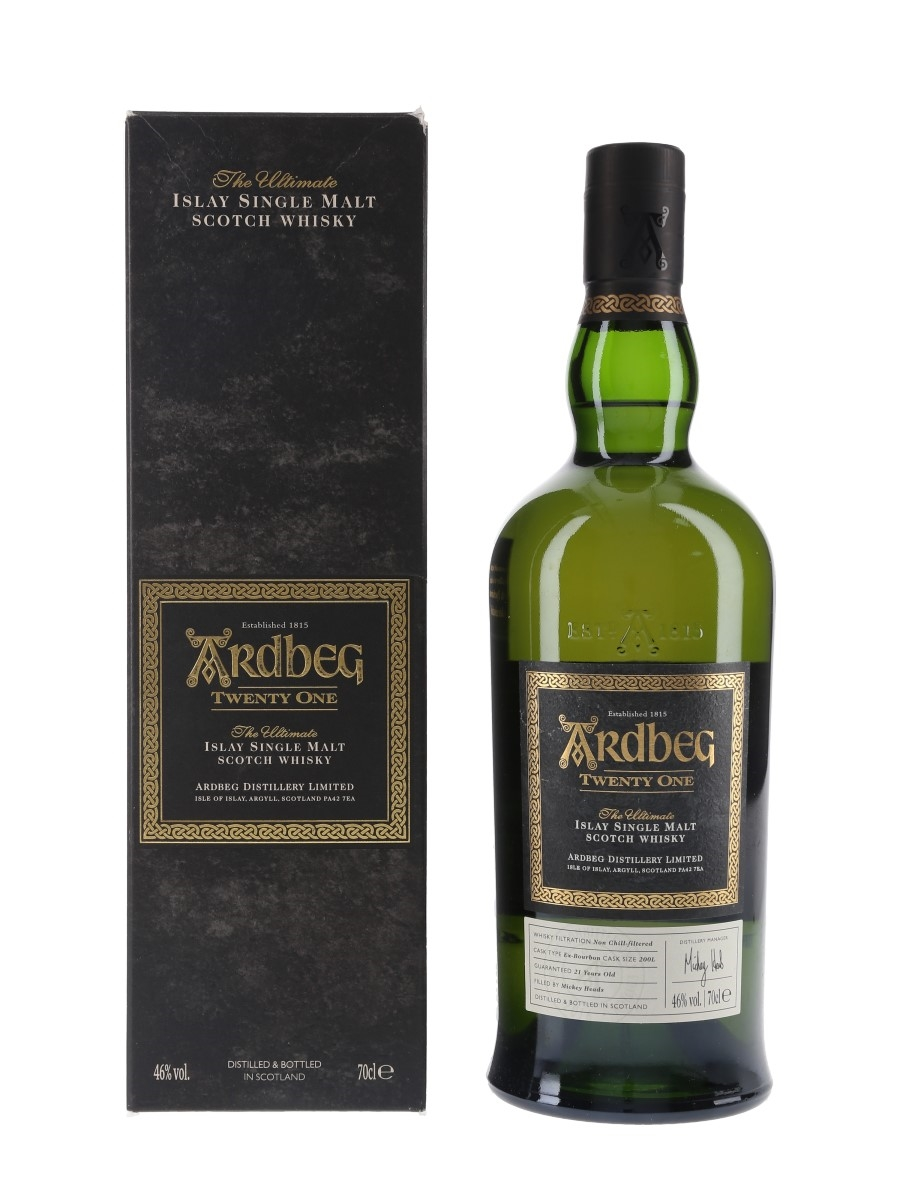 Ardbeg 21 Year Old 2016 Committee Release 70cl / 46%