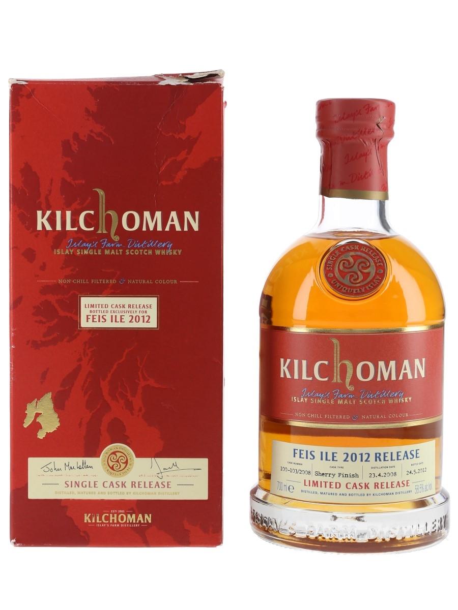 Kilchoman 2008 Feis Ile 2012 70cl / 58.5%