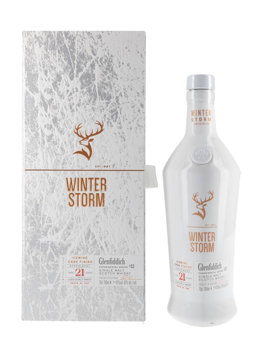 Glenfiddich 21 Year Old Winter Storm Batch 2 Icewine Cask Finish - Experimental Series #03 70cl / 43%