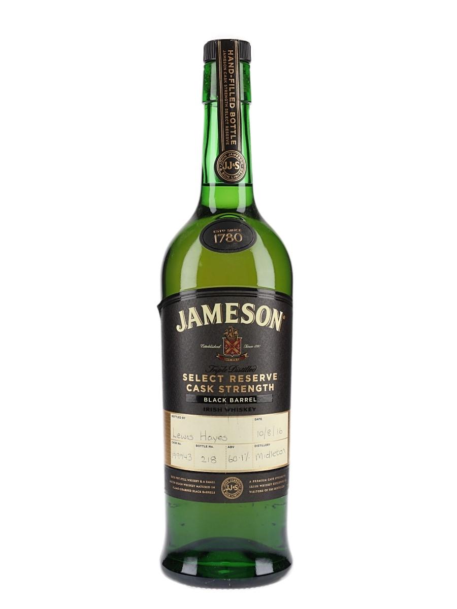 Jameson Black Barrel Cask Strength Bottled 2016 70cl / 60.1%