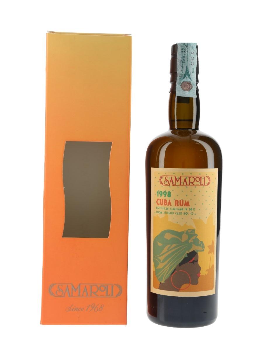 Samaroli 1998 Cuba Rum Bottled 2015 70cl / 45%